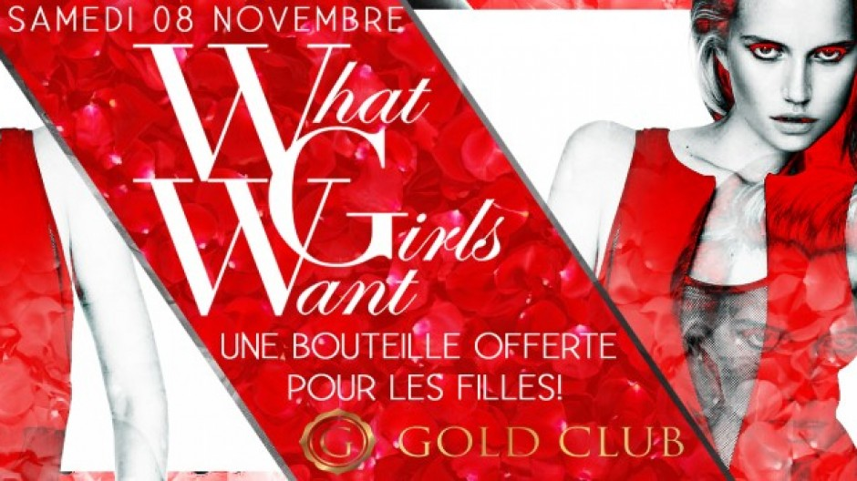 WHAT GIRLS WANT | SAT. 8th NOV.